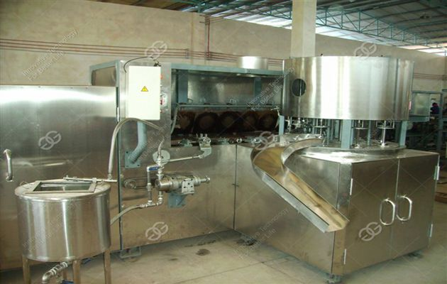 Crisp Bowl Shape Ice Cream Cone Production Line