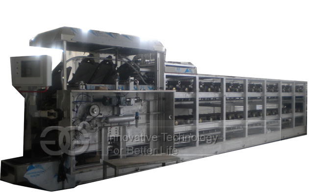 Wafer Biscuit Heating Oven Machine