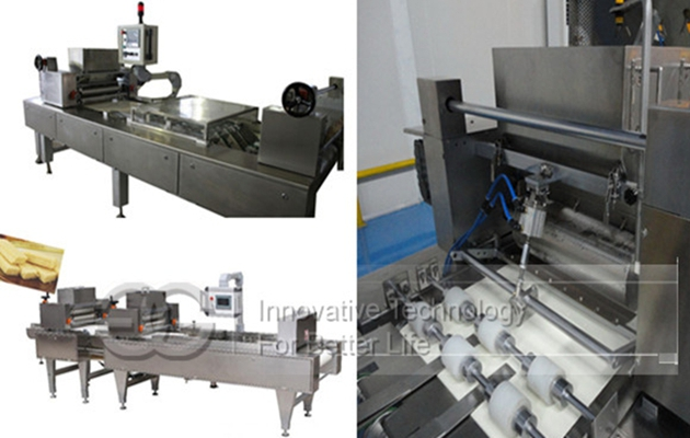 Wafer Biscuit Ice Cream Spreading Machine